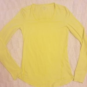 Athleta crew neck top